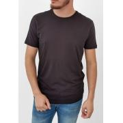 Camiseta Docthos Básica Preto Algodão Pima