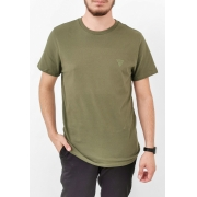 Camiseta Guess Básica Verde Militar