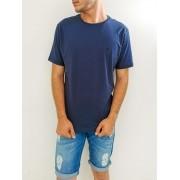 Camiseta Highstil Slim Azul marinho