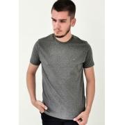 Camiseta Highstil Básica Cinza Mescla