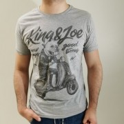 Camiseta King & Joe Slim Preta Bulldog