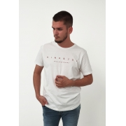Camiseta King&Joe Off White