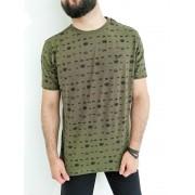 Camiseta Sakapraia Verde Militar Coroa