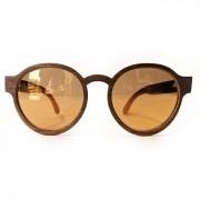 Óculos Brotherwood lente Espelhada Feito a Mão em Madeira