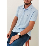 Polo Calvin Klein Azul Claro