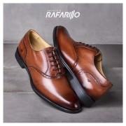 Sapato Rafarillo Marrom Oxford Classic