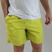 Shorts King & Joe Colors Verde Limão
