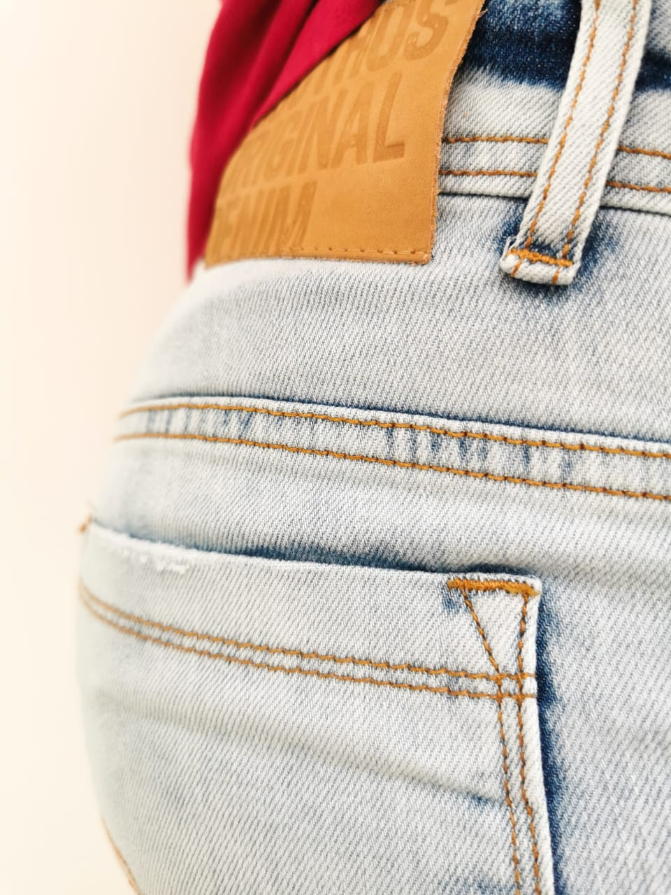 Bermuda Docthos Jeans Claro