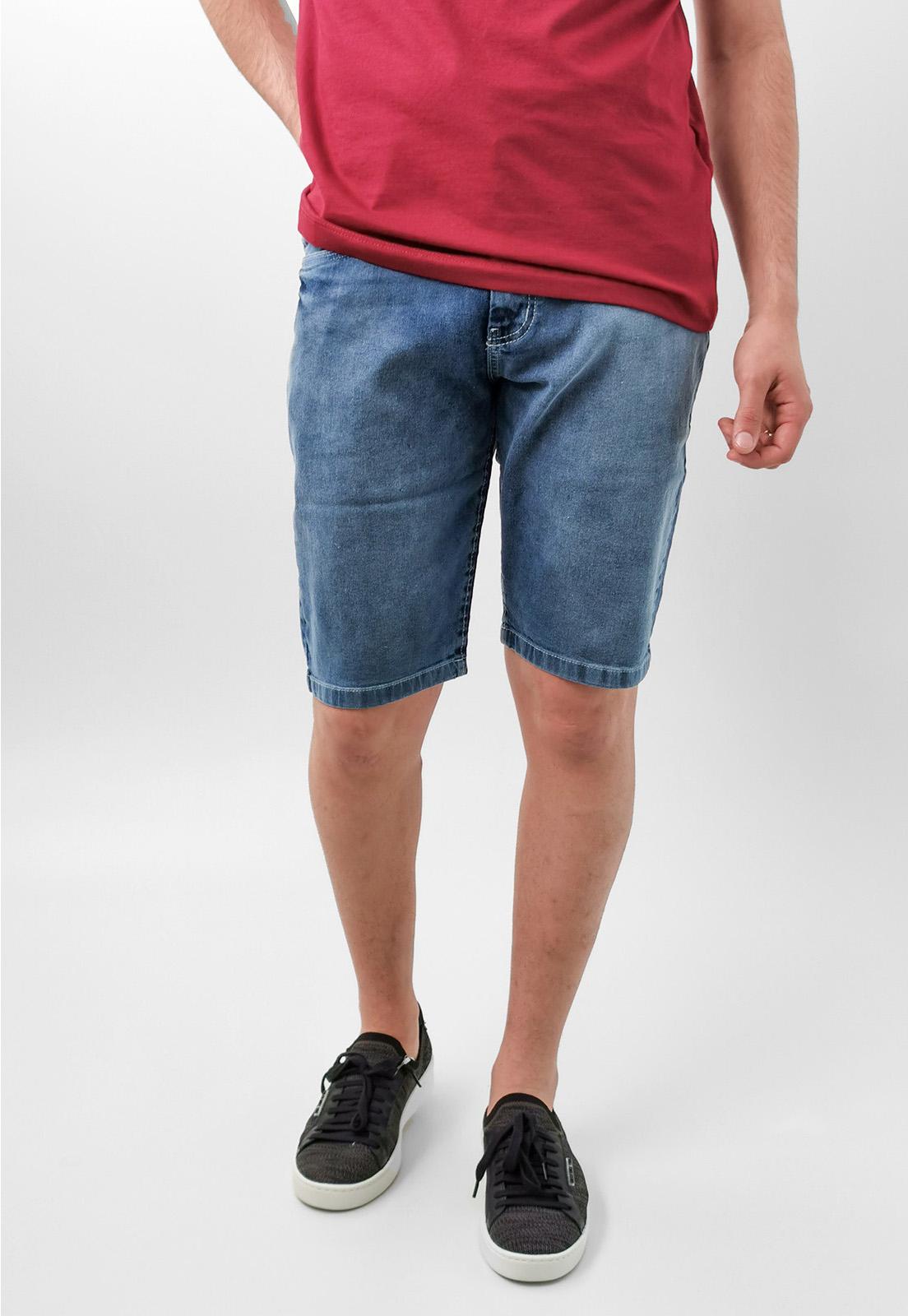 Bermuda Jeans Pitt Stoned