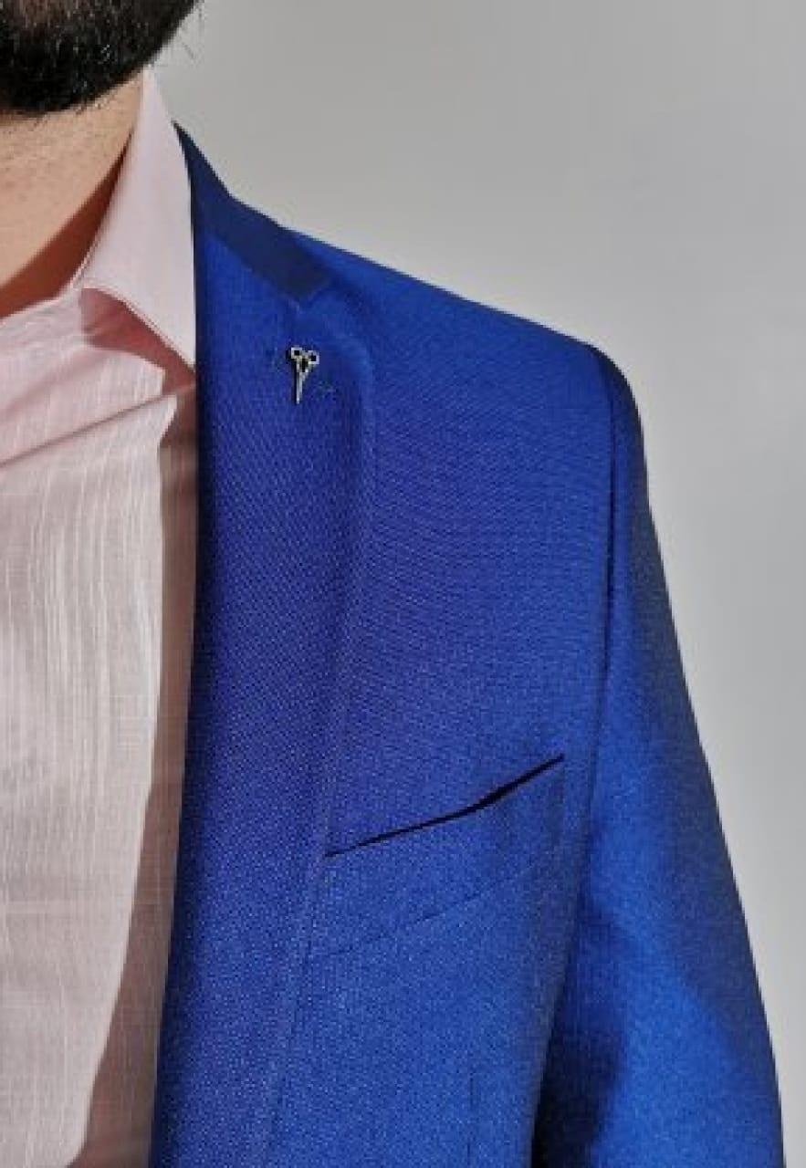 Blazer Apa Slim Azul