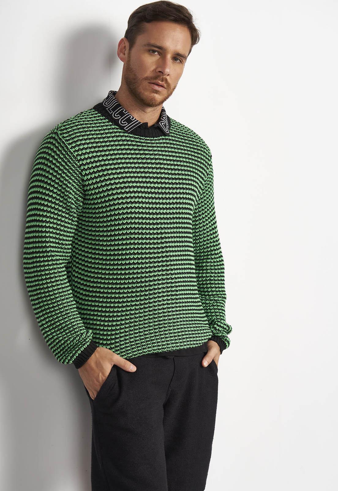 Blusa Colcci Tricô Verde