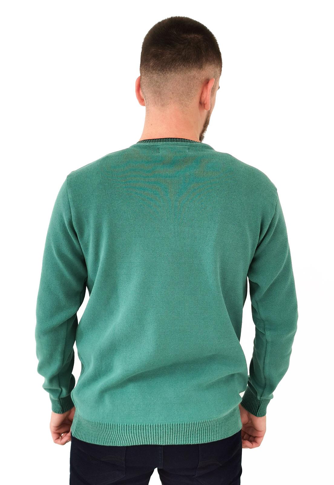Blusa Vibrus Tricô Verde