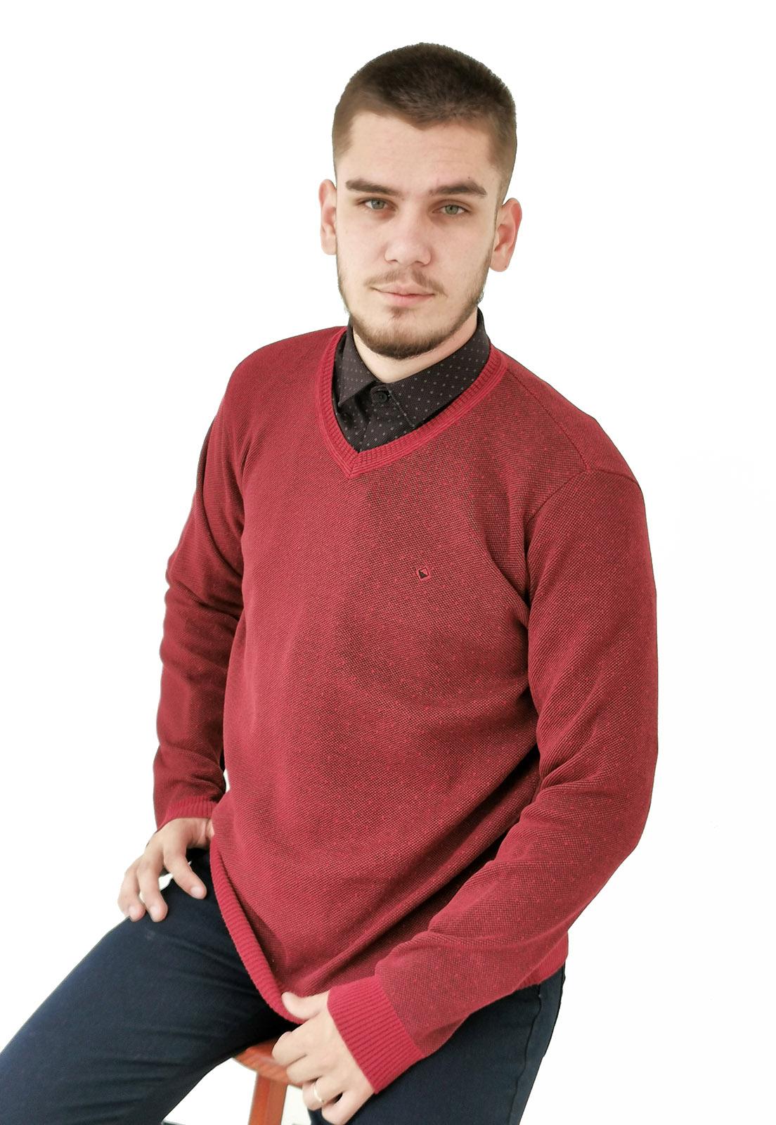 Blusa Vibrus Tricô Vermelho