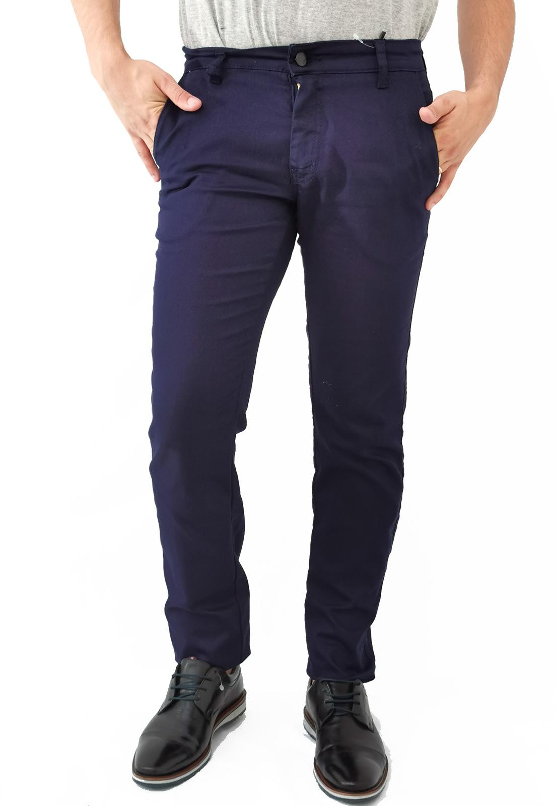 Calça Alfaiataria Pitt Azul Marinho