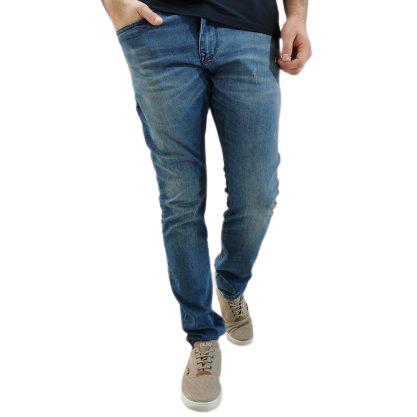 Calça Detox Jeans Lavada Skinny