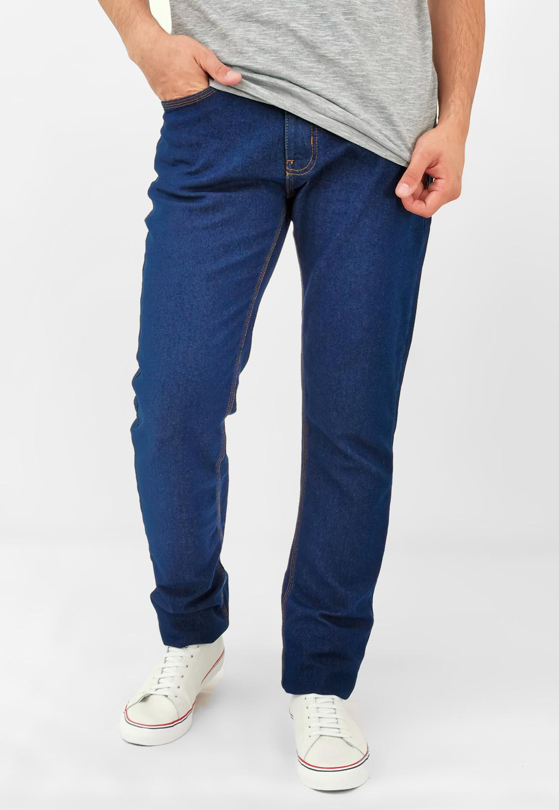 Calça Jeans Calvin Klein Slim Azul Medio