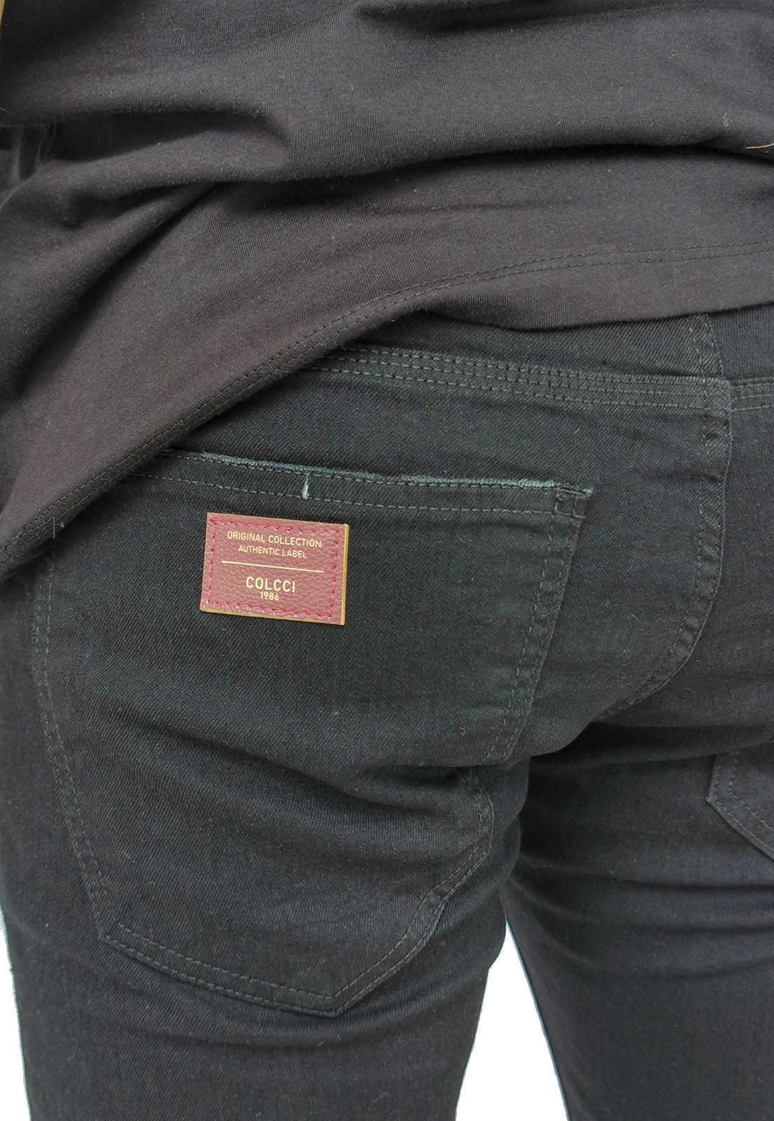Calça Jeans Colcci Slim Preto