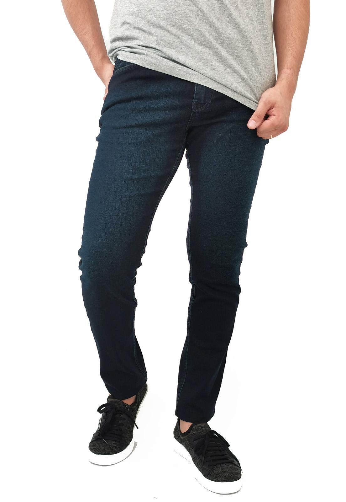 Calça Jeans Detox Azul Escuro
