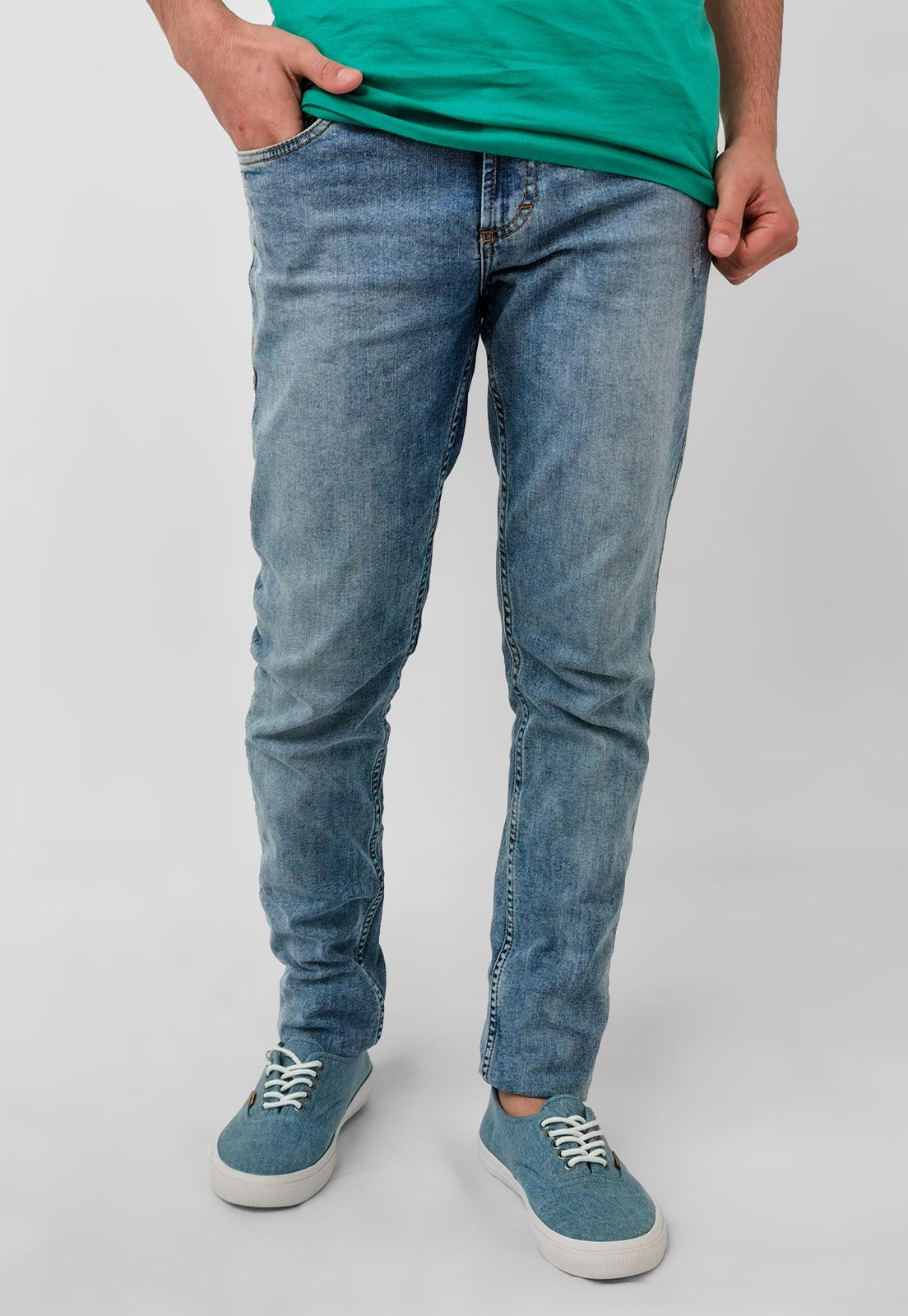 Calça Jeans Docthos Skinny Lavado