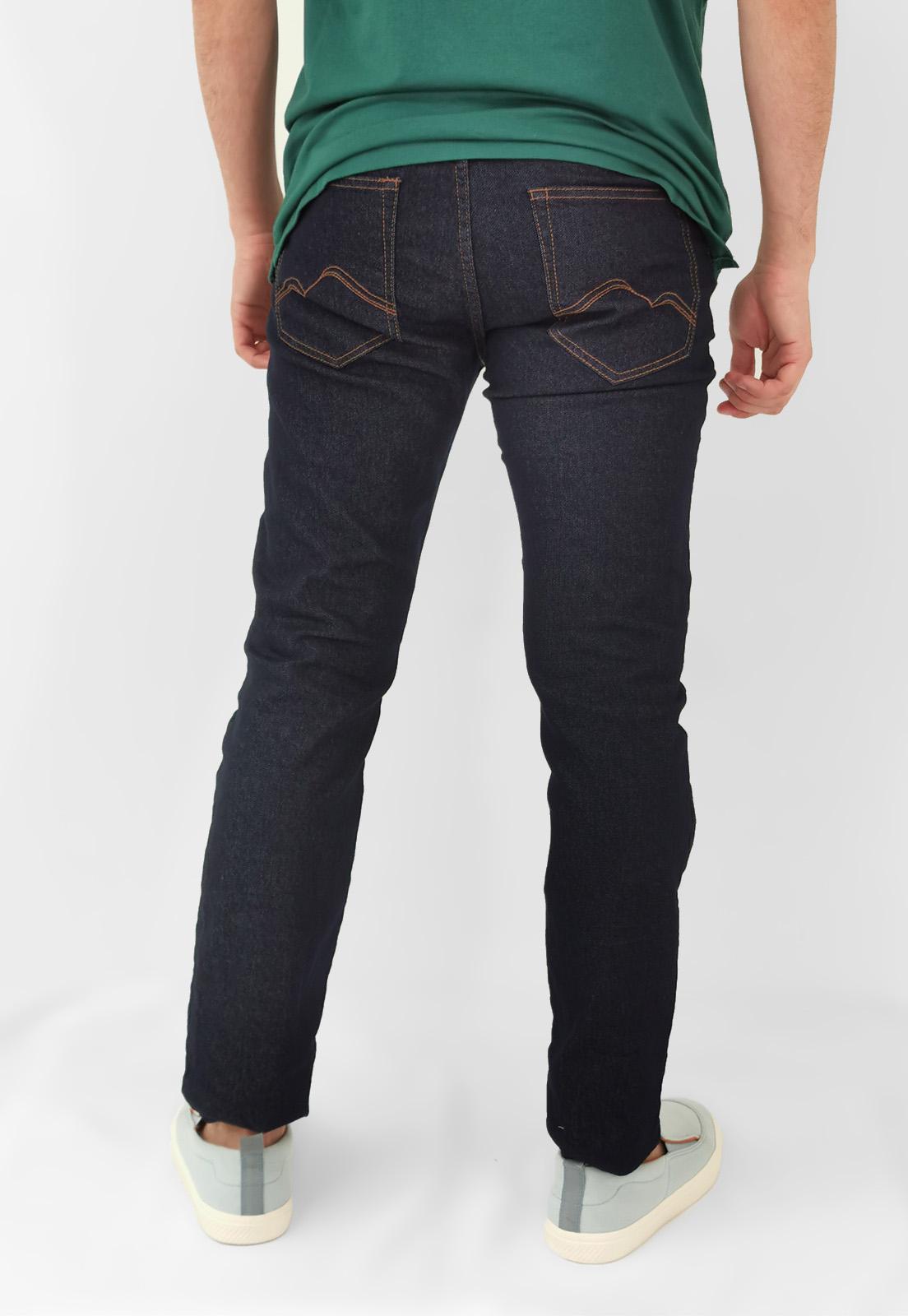 Calça Jeans King & Joe Azul Escuro