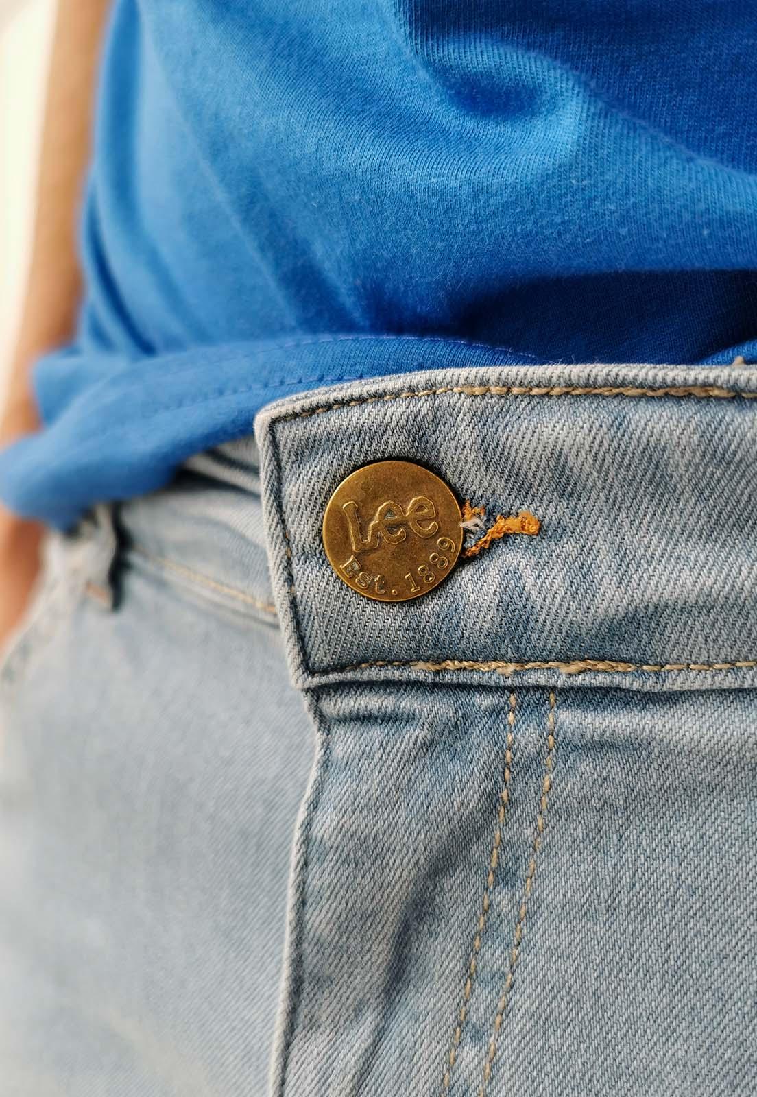 Calça Jeans Lee Super Skinny Azul Claro