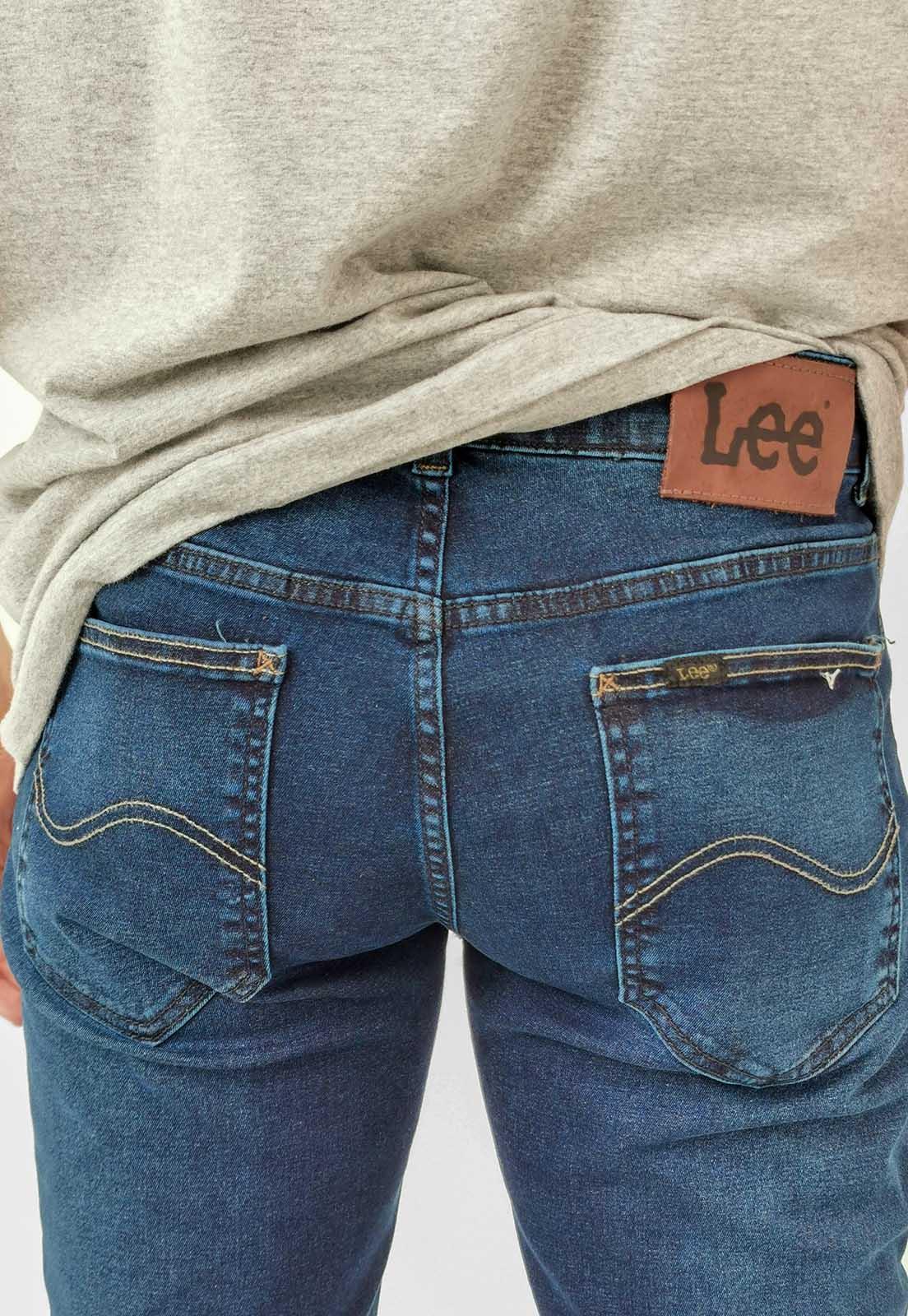Calça Jeans Lee Super Skinny Azul Escuro