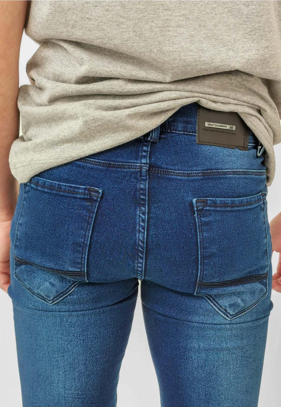Calça Jeans Max Blue Slim