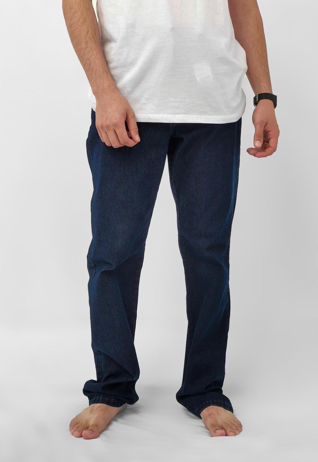 Calça Jeans Pierre Cardin Azul Escuro