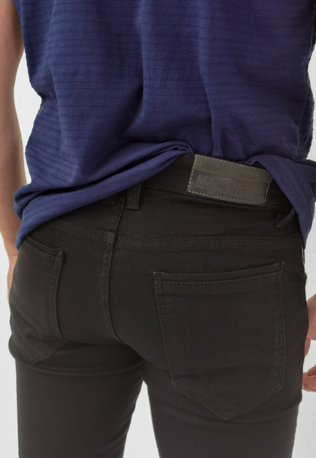 Calça Jeans Skinny Max Blue Preto