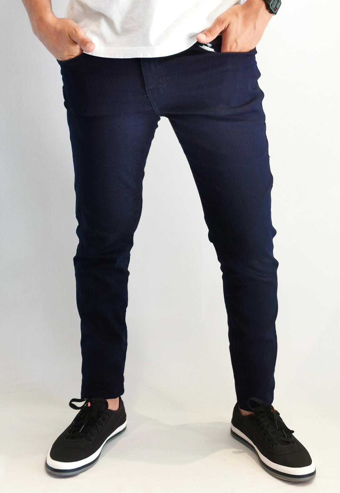 Calça Jeans Teezz Slim Marinho