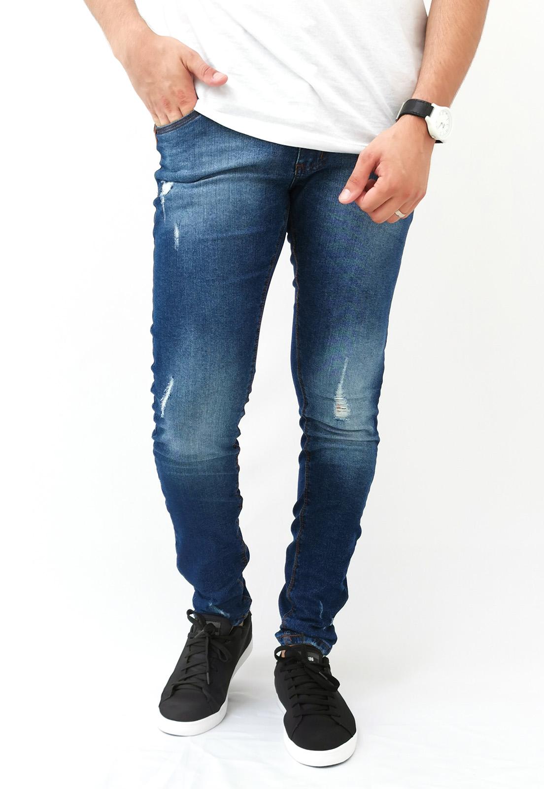 Calça Jeans Teezz Super Skinny Azul