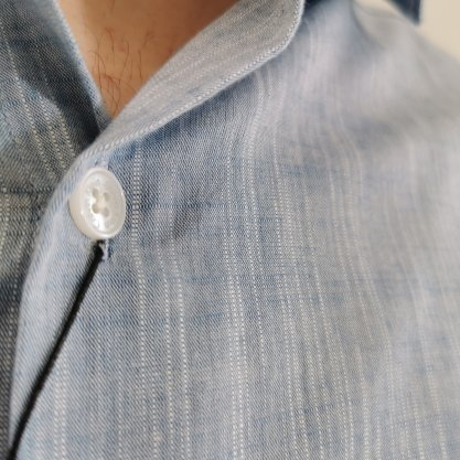 Camisa Calvin Klein Slim Azul