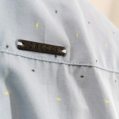 Camisa Colcci Slim Azul com Detalhes