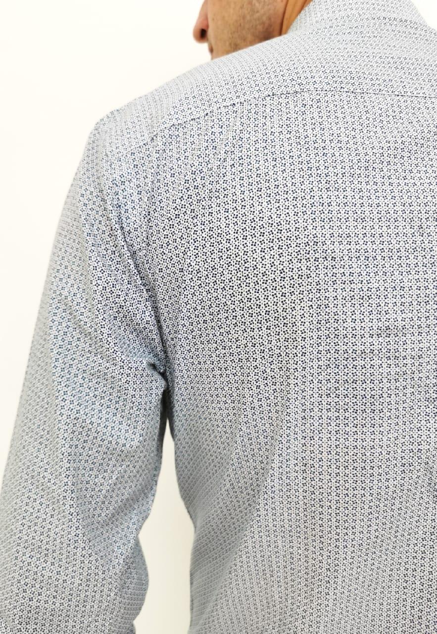 Camisa Colcci Slim Branca com Detalhes