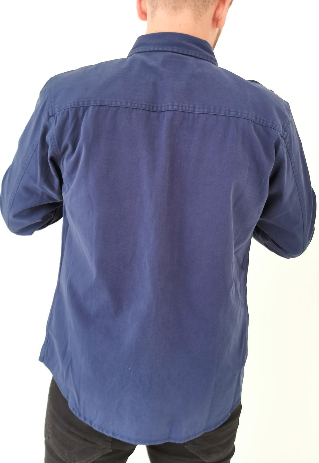 Camisa Dixie Sarja Slim Azul Marinho