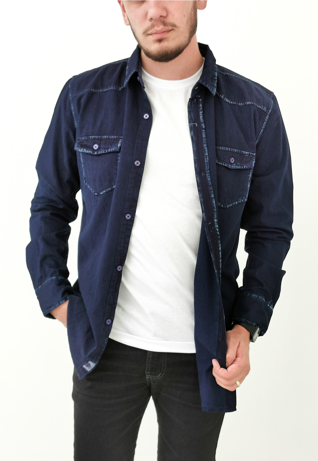 Camisa Dixie Slim Jeans