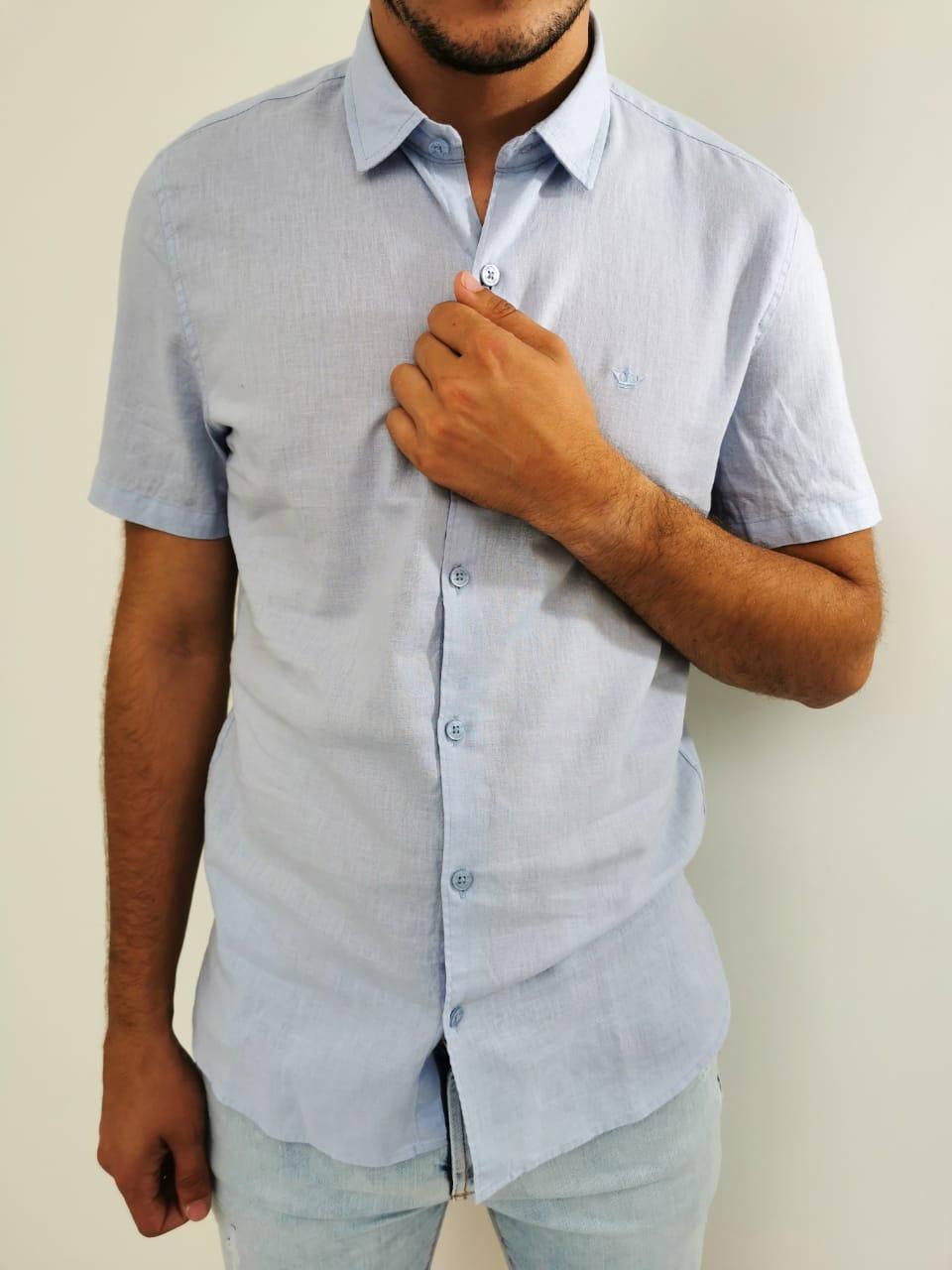 Camisa Docthos Azul