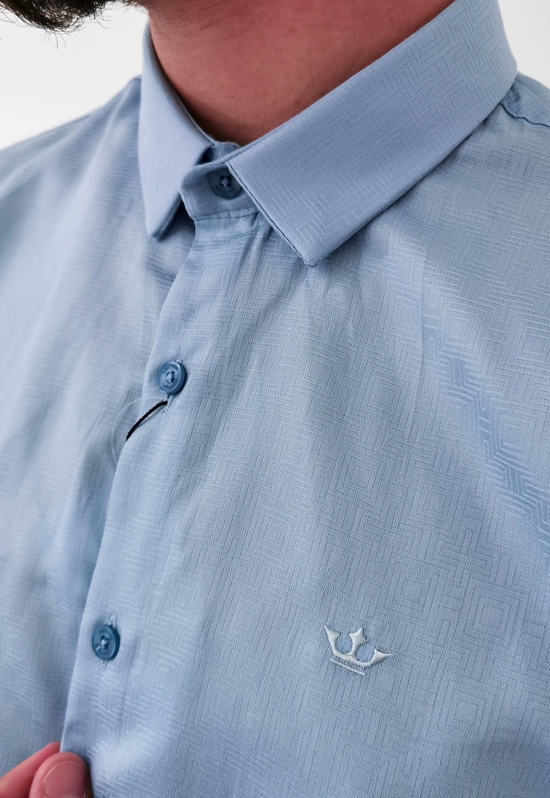 Camisa Docthos Slim Azul