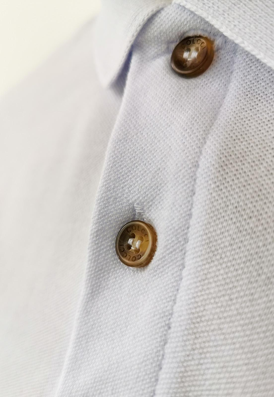 Camisa Gola Polo Colcci Branca Lisa