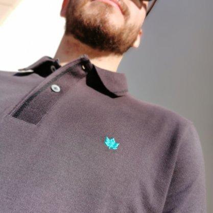 Camisa Polo Seeder Cinza Piquet