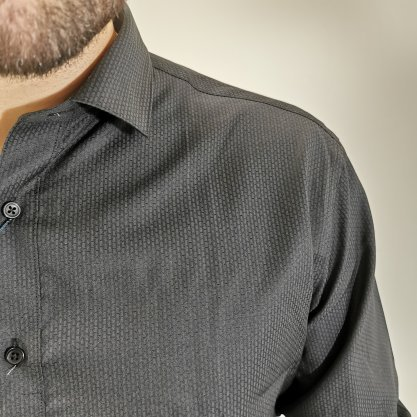 Camisa Vivacci Slim Preta
