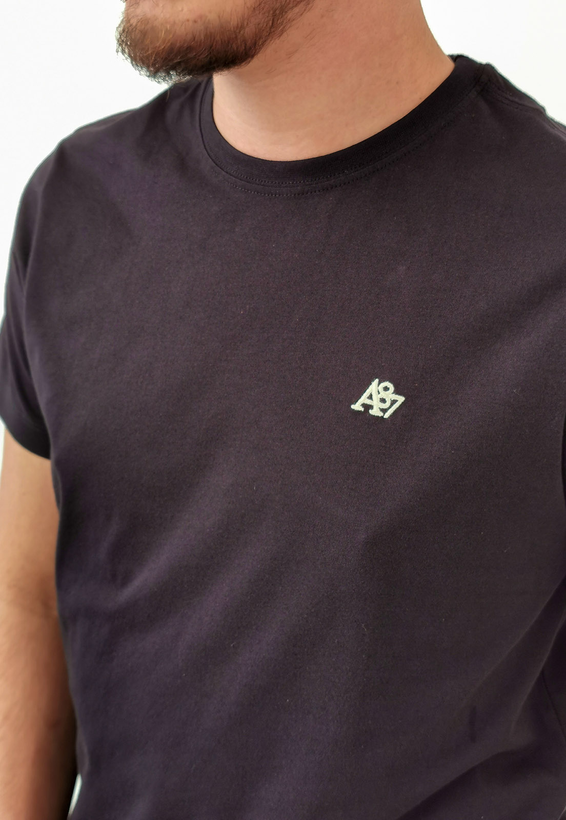Camiseta Aéropostale Básica Preto Plus Size