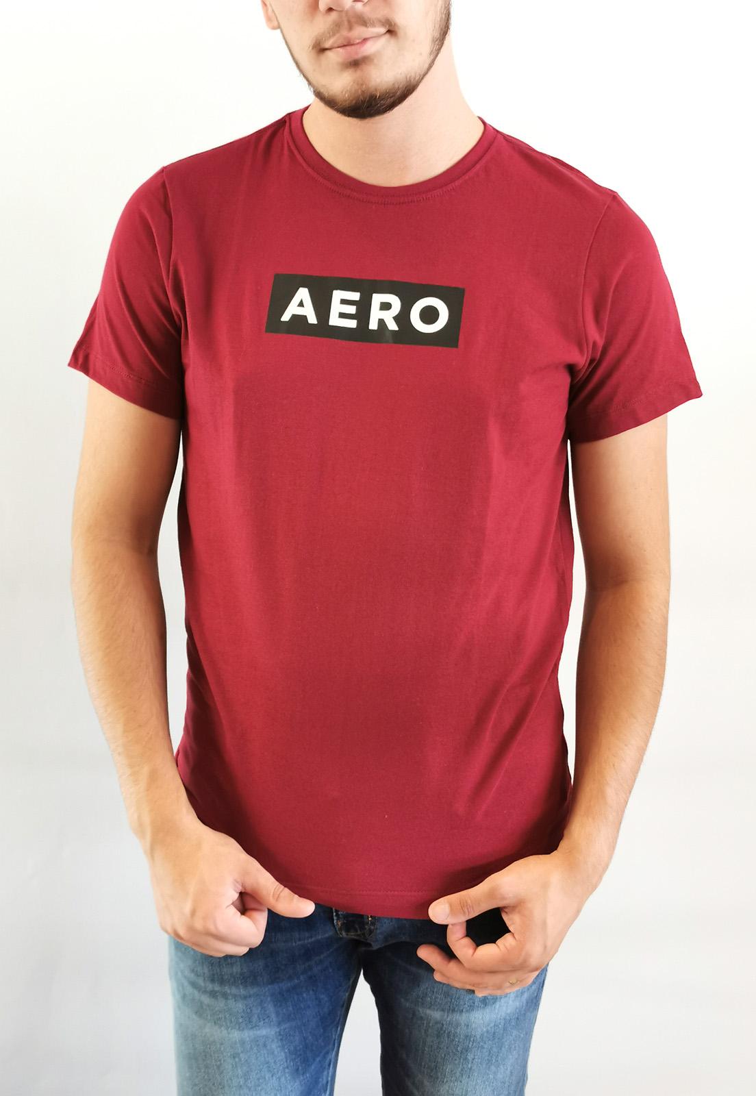Camiseta Aéropostale Bordô Logo
