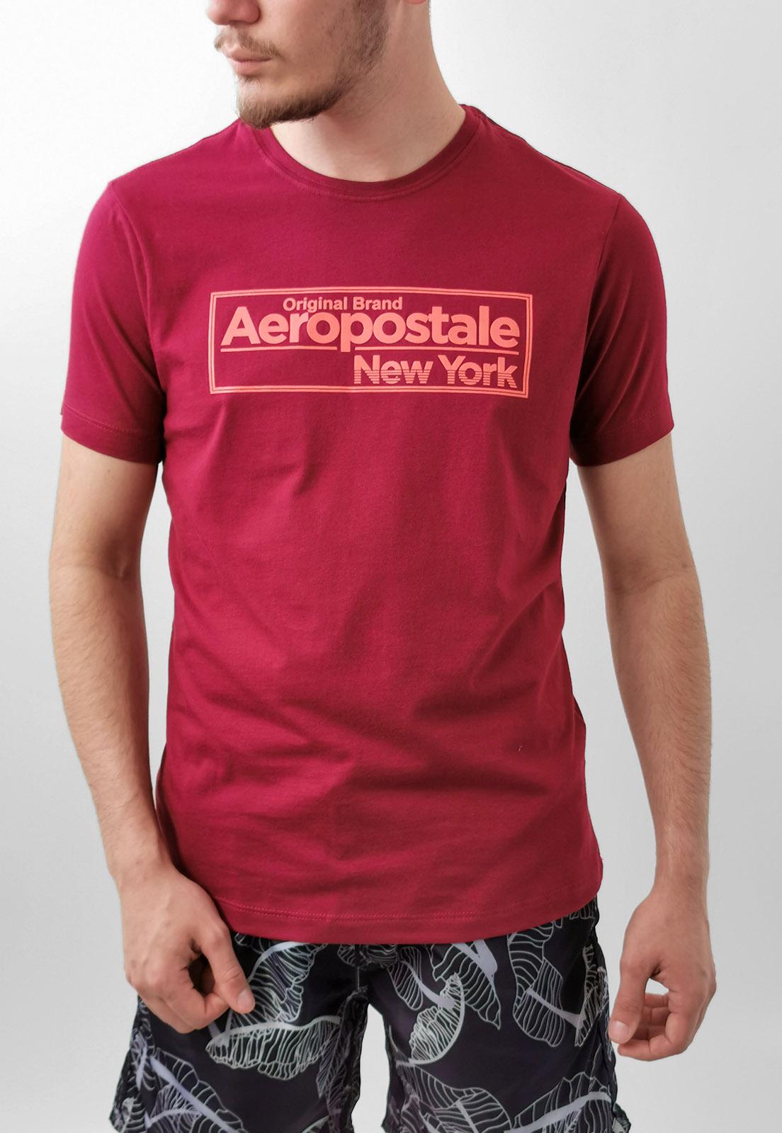 Camiseta Aéropostale Bordo New York