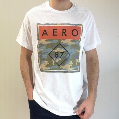Camiseta Aéropostale Branca Aer87