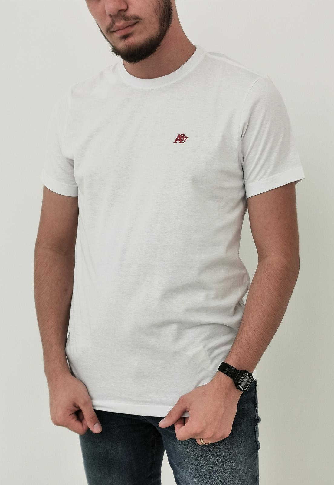 Camiseta Aéropostale Branca Básica