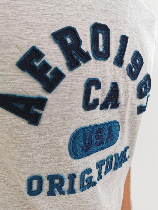 Camiseta Aeropostale Mescla Claro