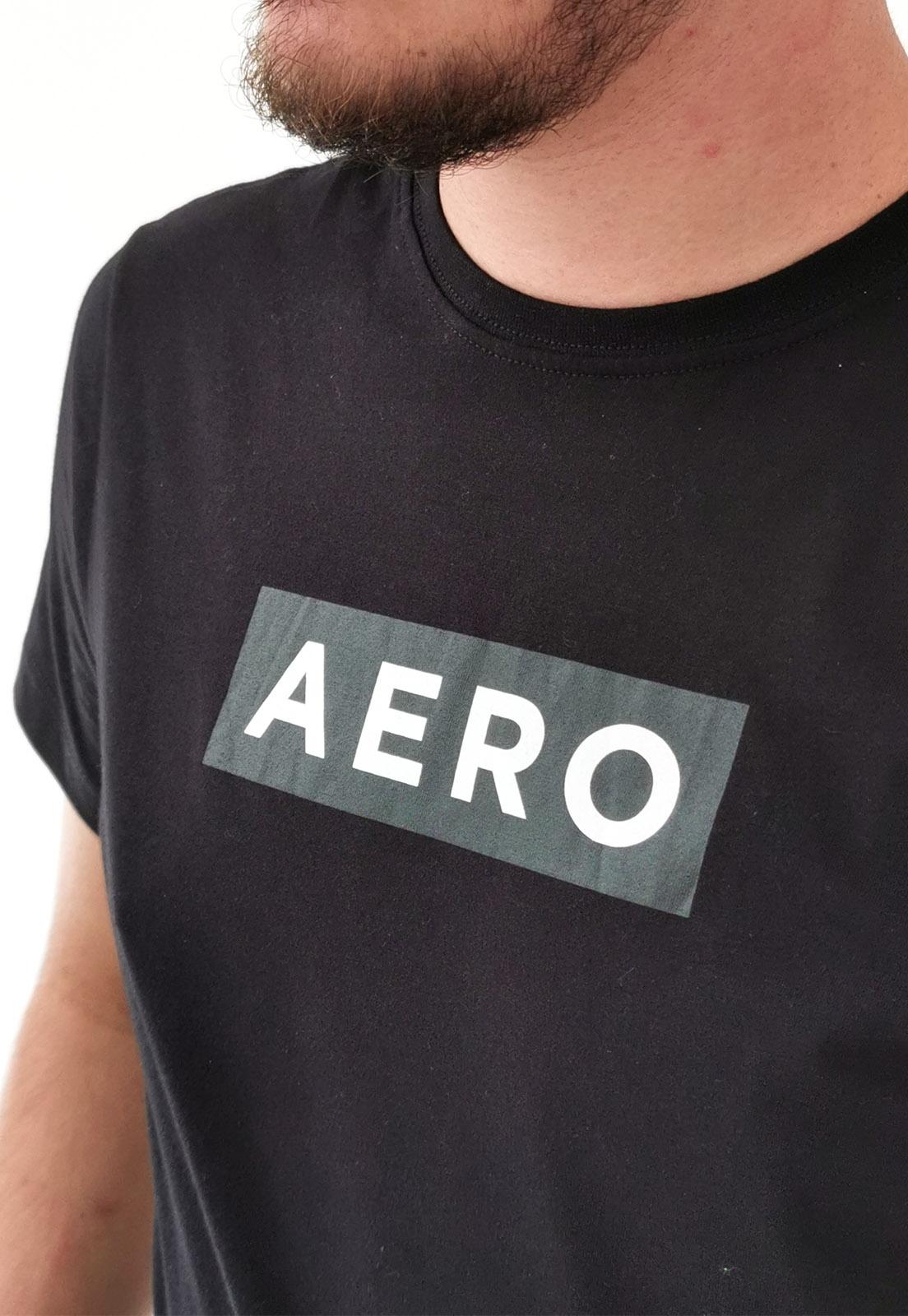 Camiseta Aéropostale Preto