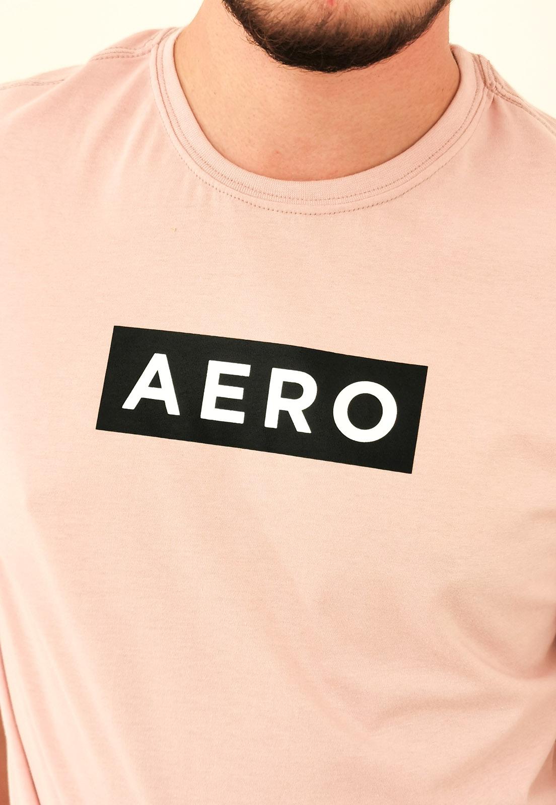 Camiseta Aéropostale Rosa