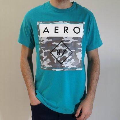 Camiseta Aéropostale Verde Aer87